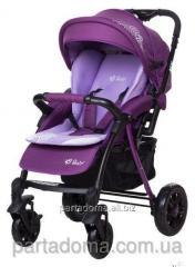 Коляска Bair fox purple светлосиреневый-темносиреневый