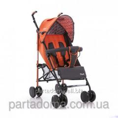 Коляска Everflo sk-165 ,новая модель - закрытые колеса оранжевый