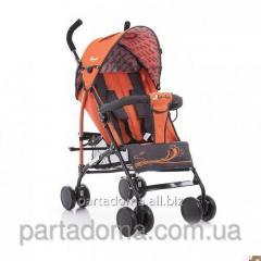 Коляска Everflo sk-166 ,новая модель - закрытые колеса orange