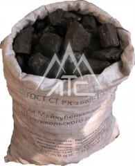 Coal high-quality (packed up) (10, 25, 50 kg)