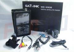 The device for setup of satellite SatLink WS-6908