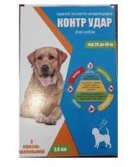 Drops insektoakaritsidny for dogs Counter Blow