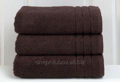 Полотенце махровое (плотность 450гр/м2), 70см*140см, коричневый