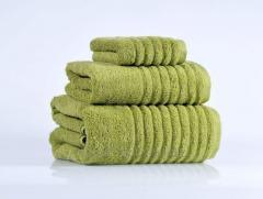 Полотенце махровое (плотность 450гр/м2), 70см*140см, зеленый