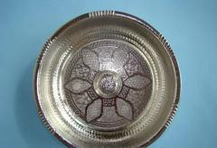 Bowl for ablution in boors (the chromeplated