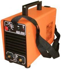 Инвертор сварочный ВД-200 для ручной дуговой