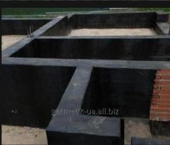 Waterproofing structure for the base