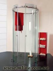 Glass shower cabins