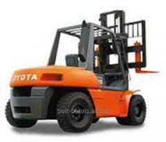 Equipment loading (repair of loaders)