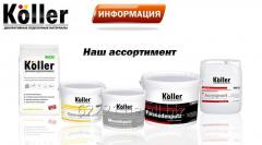 Decoratively finishing material KOLLER