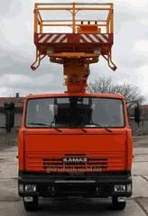 Car lift telescopic AP-28, chassis Type: