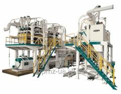 P6-AVM-30 Aggregate mill for grinding wheat