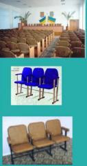 Мебель театральная. Мебель для зрительных залов,