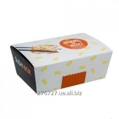 Sushi boxing of big - the container for packing,