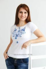 T-Shirt Women's Spring embroidered A-19