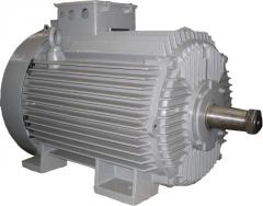 Electric motors industrial from 0,18-630 kW