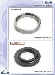 Epiploon of the DPH 0189977647 crankshaft *