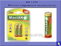 AA1300 Metal gidridny Mastak (Ni-Mh) accumulator