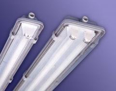 Люминесцентный светильник накладной-подвесной ЛПП