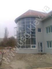 Aluminum facades