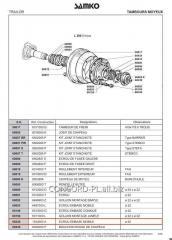 Nut wheel SAMKO 002476979 *