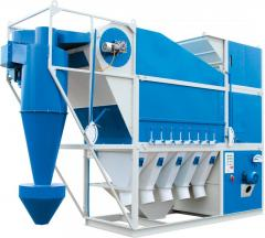 Separators grain aerodynamic SAD-4,5,10,15,20,30,50,100,150 (purification of grain)