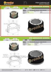 Brake drum FRENKA 0310977160, art.