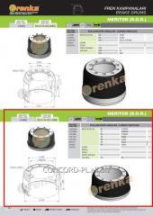 Brake drum FRENKA 1004267, art. 99.014.003.098-FR