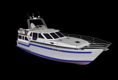 Круизная моторная яхта  БОЯРИН-1200