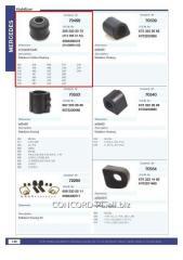 Stabilizer plug rubber-metal 3093200073, art.