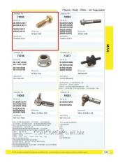 Bolt of fastening of a pneumopillow 06028143017,