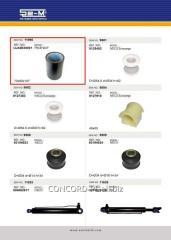 Balance weight plug SEM UJA0030001 rubber-plastic