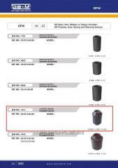 Semi-spring plug SEM 0203160600 rubber-metal *,