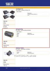 Plug spring metal SEM 1357764 *, art. SEM8755