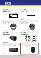 Plug spring SEM 9000 8207 rubber-metal, art.