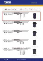 Plug spring SEM 6733200050 rubber-metal *, art.
