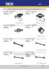 Stabilizer plug SEM 81.43722.0085 rubber-metal,