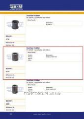 Stabilizer plug rubber SEM 5010130022 *, art.