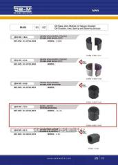 Stabilizer plug rubber SEM 81437220053 *, art.