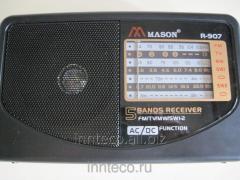 Radio receiver portable MASON R-907