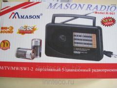 Radio receiver portable all-wave MASON R-907