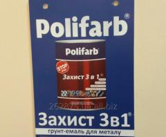 Краска Полифарб тм Polifarb эмаль гладкая