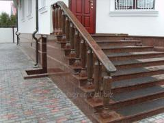Balusters and handrails custom