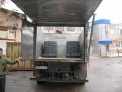 Переоборудование автомобилей для транспортировки