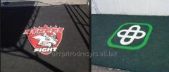 Covering antiskid for entrance groups
