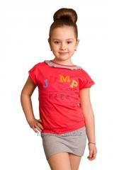 T-shirt for the girl of T-4, the size 68, 80, 92