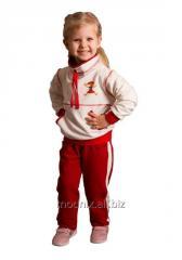 Брюки спортивные узкие для девочки Т-9