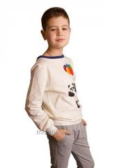Sweatshirt for the boy of T-19, the size 68, 80,