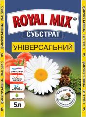 Substratum universal royal mix, garden club of 5