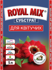 Substratum for the blossoming royal mix, garden